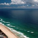 Q1 View  Surfers Paradise by Vicki Ferrari