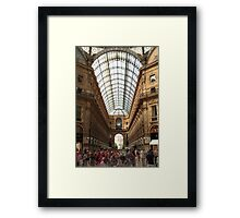 Great commotion Framed Print