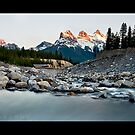Cougar Creek and The Three Sisters by LukeAustin