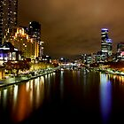 Southbank view from Princess Bridge by RichardIsik