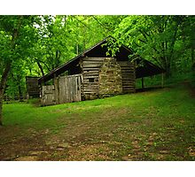 Beaver Jim Villines Boyhood Home Photographic Print