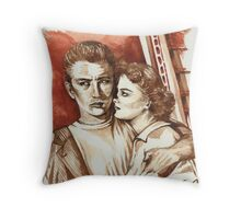Rebel Without A Cause ( 1955 ) Throw Pillow