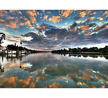 Sunrise on the Murray Photographic Print