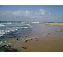 A Walk On The Beach Photographic Print