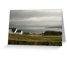 Atlantic evening Greeting Card