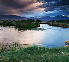 Owens River Sunset by Nolan Nitschke