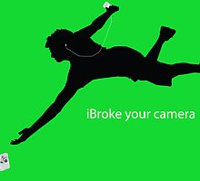 iBroke Your Camera (iPod Parody) by Crenshaw