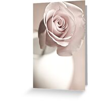 Rose In A Vase Greeting Card