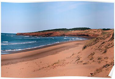 Cavendish Beach by Jeff Blanchard