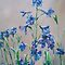 LARKSPUR painting by schiabor