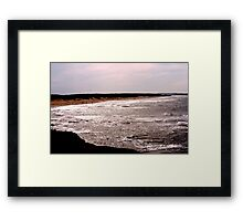 Shining Water - Cavendish Beach, PEI Framed Print