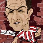 Chris Morgan - Sheffield Utd FC by Brendan Williams