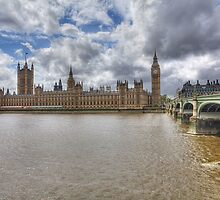 Palace Of Westminster-5340 by Barbara Harris