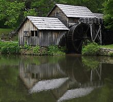 Mabry Mill by Jeffrey Sanders