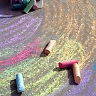 Child's Chalk Art 3 by SteveOhlsen
