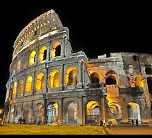 Roman Coliseum, Italy by Jorge's Photography