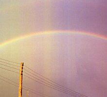 pink rainbow by Juilee  Pryor