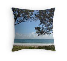 (45)-Shark Bay Throw Pillow