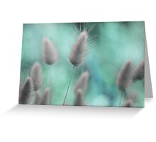 Nature's softness Greeting Card
