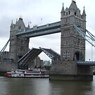 Tower Bridge Opening by Marie Brown ©