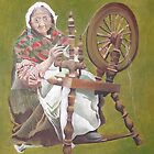 Spinning A Yarn by taiche