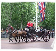 Prince William and camilla Parker Bowles Poster