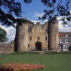 Tonbridge Castle. by Brunoboy