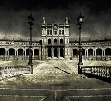 Plaza de España, Sevilla by Paul Webb