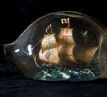 Ship in a Bottle by Mike Oxley