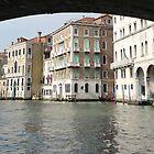 From under Rialto Bridge by Angelo Vianello