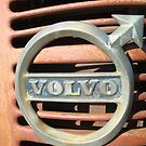 Volvo Emblem - old tractor by Paola Svensson