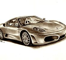 Ferrari F430 by Martin Hatton
