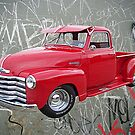 OldNSlo 1949 Chevrolet 3100 Pickup by Glenna Walker