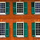 Green Shutters by Ray4cam