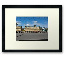 Cattle on the Move Framed Print