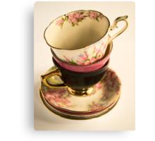 Tea-Cups Canvas Print
