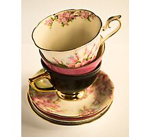 Tea-Cups Photographic Print