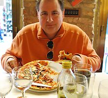 I love Pizza....  especially in Rome by mhenninger
