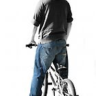 BMX Rider by Stephen Mitchell