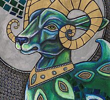 Icon I: The Ram by Lynnette Shelley