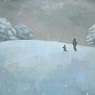 Snowy Hill by Stephen Mitchell