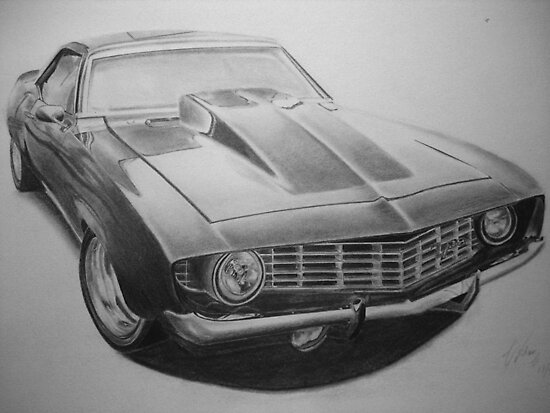 Camero z28 by William Lo