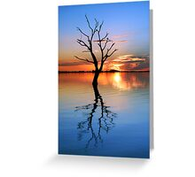 Tranquil Lake Greeting Card