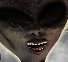 Aliens Ate My Brain Sticker