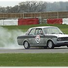 Tony Crates Ford Lotus Cortina Mk2   by Ron-Mymotiv