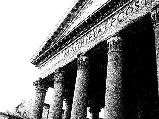 ROME - Pantheon - by Daniela Cifarelli