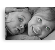 Put Your Head On My Shoulder Canvas Print