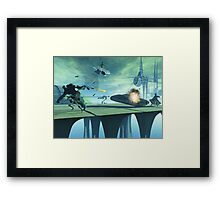 Different Drummer Episode IV Framed Print