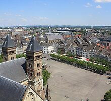 Maastricht from Above by theBFG