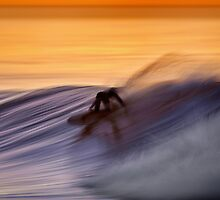 Dawn Surfer by David Orias